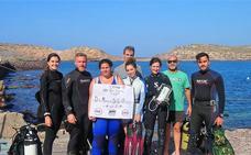 Estudiantes de doctorado de la UGR participan en un curso sobre biología marina de CEI·Mar