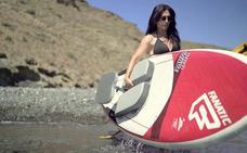 Así es el nuevo concepto de asiento para paddle surf patentado por un almeriense