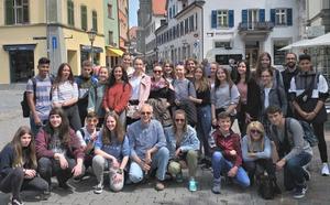 El IES Los Ángeles celebra en Alemania su hermanamiento con el Instituto Ebingen