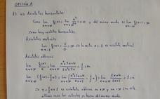 Un profesor de Granada resuelve el polémico examen de Matemáticas de Selectividad: «no es tan difícil, se puede hacer perfectamente»