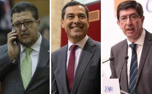 Las 34 medidas del PP, Cs y Vox para los nuevos presupuestos de Andalucía