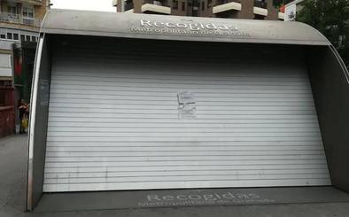 Ya hay fecha para la reapertura de la entrada de la estación del Metro en Recogidas