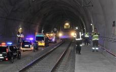 Adif realiza dos simulacros de emergencia en los túneles de Quejigares y Archidona