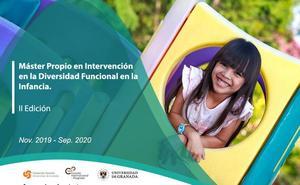 Máster Propio en Intervención en la Diversidad Funcional en la Infancia