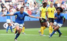 Manita de Italia a Jamaica