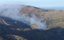 Declarado el segundo incendio forestal del día en Bédar