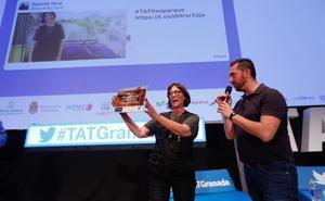 Dos tuiteros de TAT Granada se llevan un viaje por el Geoparque