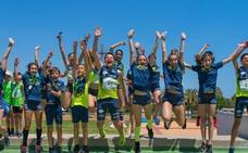 Los atletas de la Escuela del Unicaja Jaén Paraíso Interior brillan en las citas andaluzas