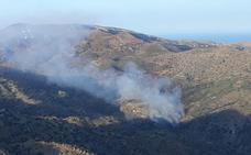 Dos fuegos en Laujar de Andarax y Bédar 'inician' la temporada de alto riesgo de incendios en Almería
