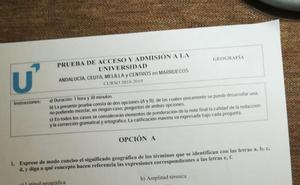 Así han sido todos los exámenes de Selectividad en Andalucía: ¿sabrías resolverlos?