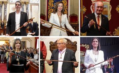 La toma de posesión de los alcaldes, en imágenes