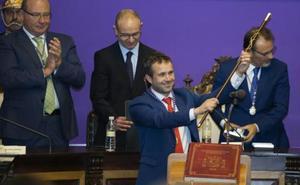 Julio Millán ya es alcalde de Jaén gracias al pacto con Ciudadanos
