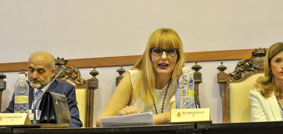 María Cantos: «No hemos llegado para calentar sillones o gobernar sin ganas»