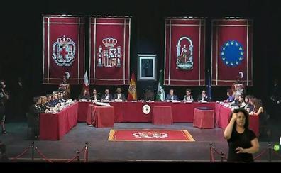 Sigue en directo la constitución del Ayuntamiento de Almería
