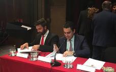 Pérez de la Blanca (Vox): «Tengo la palabra de Ramón de que nos sentaremos a discutir sobre impuestos»