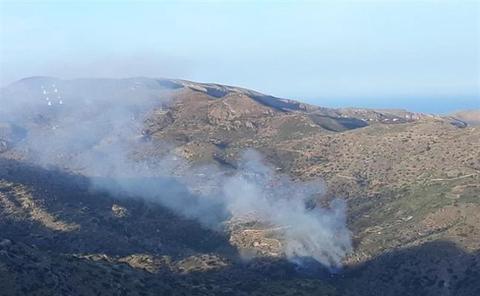 Extinguido el incendio forestal de Bédar