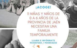 11 menores buscan en Jaén una acogida temporal