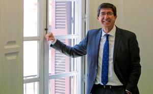 Juan Marín afirma que, «en principio», Luis Salvador es el «alcalde de Granada para toda la legislatura»