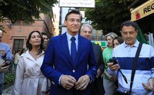 Luis Salvador: «Vox no entrará en gobierno»