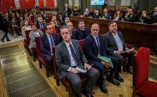La Fiscalía valora la última palabra de los líderes del 'procés' para no excarcelarlos