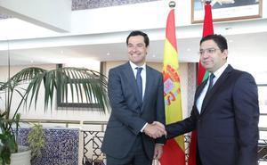 Juanma Moreno defiende en Marruecos «la captación de talento interno y externo» en su Gobierno