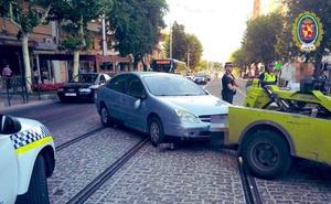 Al juzgado por «conducir peligrosamente» por el Paseo de la Estación y negarse a 'soplar'