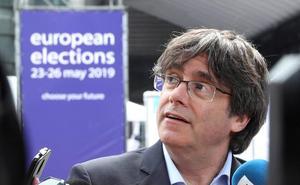 Puigdemont fía la validez de su acta como eurodiputado al precedente de tres senadores