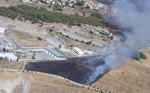 El Infoca controla un incendio agrícola declarado en Cájar