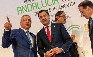 Moreno anuncia 300.000 euros para asesorar a empresas andaluzas que quieran instalarse en el norte de África