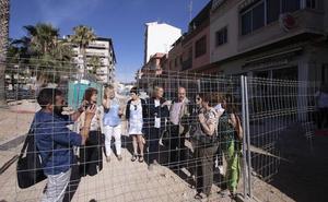 García Chamorro: «Ya no valen más excusas para acabar las obras de la calle Ancha»