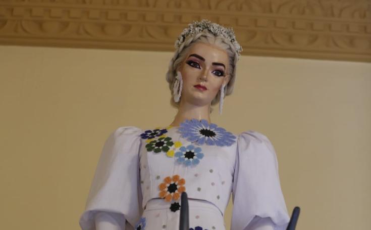 El vestido de la Tarasca de este año, desvelado