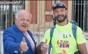 220 kilómetros entre Sevilla y Torredonjimeno para visibilizar la ELA