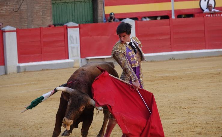 Emiliano Robledo gana el certamen de novilladas del Corpus 2019