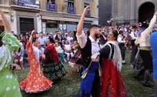 Las mejores imágenes de la procesión del Corpus en Granada