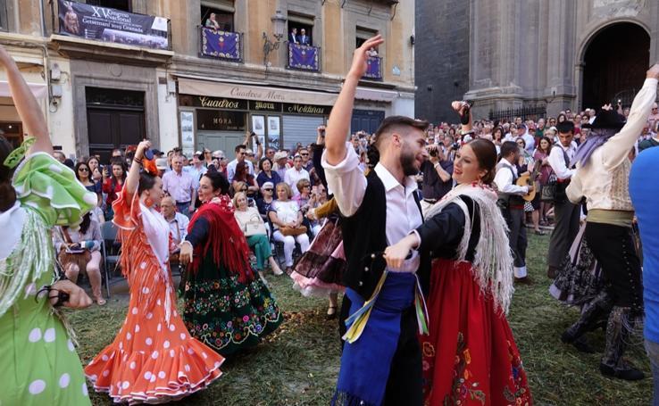 Baile, devoción y alegría para recibir a la Custodia