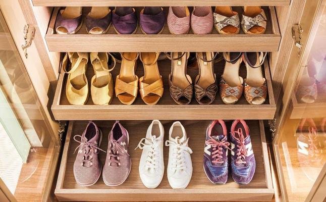 3 ideas de muebles para ordenar tus zapatos