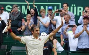 Federer vence a Bautista