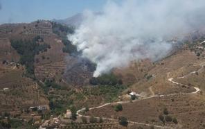 El incendio en el paraje de Gelibra en Almuñécar está estabilizado