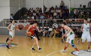 Antonio Moreno, con la selección española