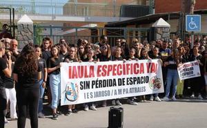 El IES El Jaroso se concentrará el próximo martes para reclamar un aula específica