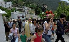 Bubión celebra sus fiestas en honor a San Antonio de Padua