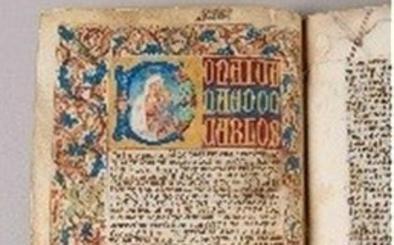 El documento más antiguo que se conserva en Porcuna, restaurado