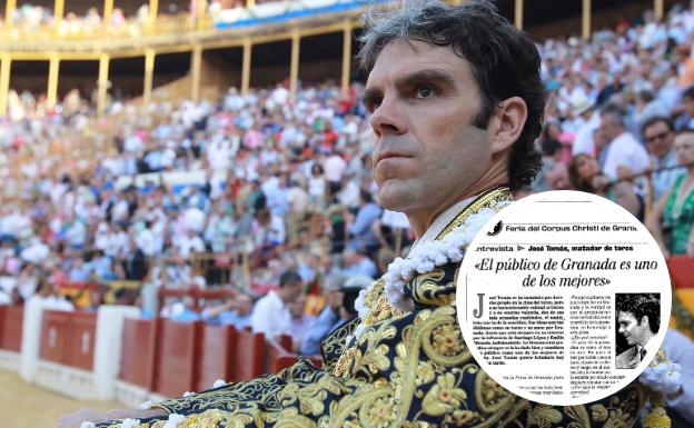 José Tomás: «Granada es una plaza que siempre se me ha dado bien»