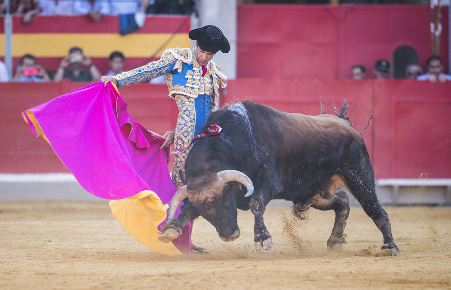 Así ha sido el regreso de José Tomás a la Monumental de Frascuelo de Granada