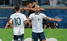 Argentina supera a Catar y jugará contra Venezuela en cuartos