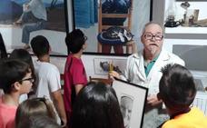 La magia del arte llega a los niños con la pintura de Faustino Castillo