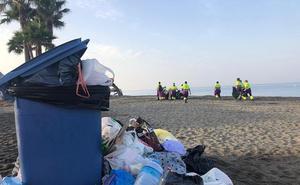 Las playas de Almería, en condiciones óptimas desde primera hora