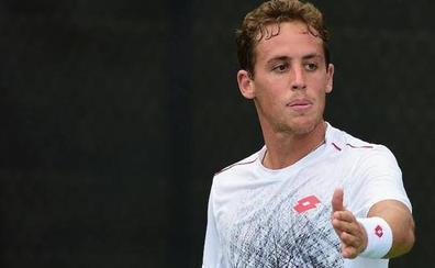 Roberto Carballés gana en primera ronda en el Open de Antalya
