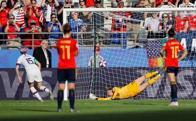 Dos penaltis acaban con el sueño de España