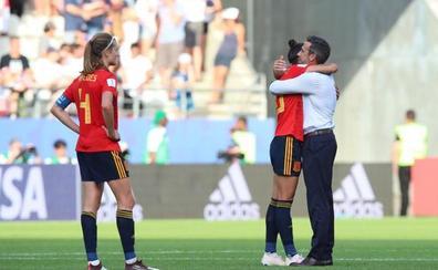 Jorge Vilda: «Orgullosísimo de estas jugadoras que lo han dado todo»